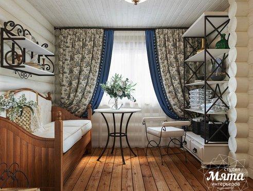 Дизайн интерьера комнаты отдыха в бане с. Косулино