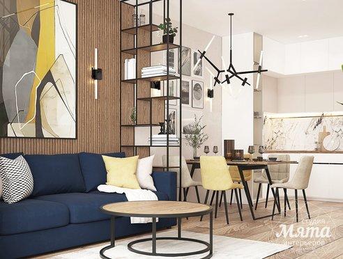 Дизайн интерьера трехкомнатной квартиры ЖК Клевер Парк