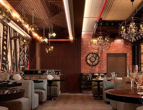 Дизайн интерьера кафе в Сочи